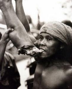 O que é canibalismo?