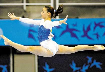 O que é ginástica artística?