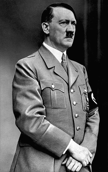 Legenda: O ditador alemão Adolf Hitler, idealizador do nazismo.