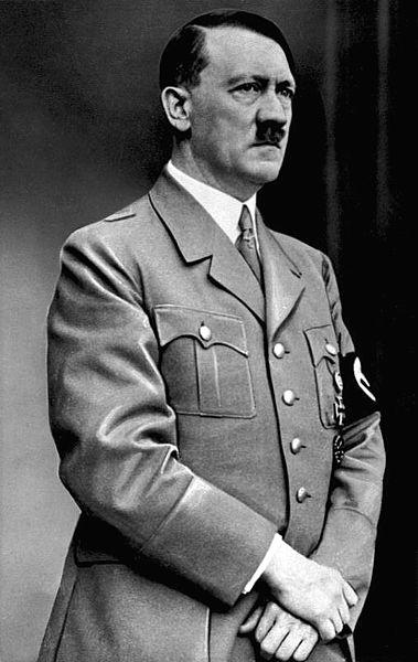 Legenda: O ditador alemão Adolf Hitler, idealizador do nazismo.